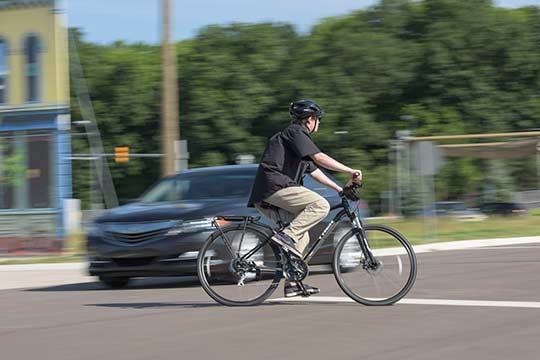 Mcity biker