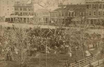 Tappan announces Civil War, Bentley Historical Library