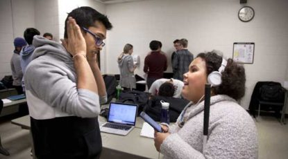 Computer Science and Engineering students partnered with India West