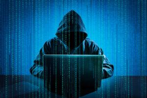 Scary hacker, stock