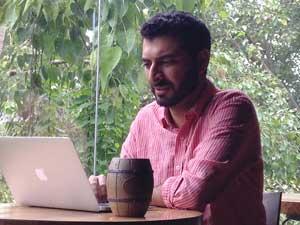 Gaurav Sikka, BA '06. (Image: Mandira Banerjee.)
