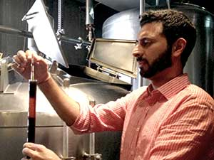 Local brewers perform some customization. (Image: Mandira Banerjee.)