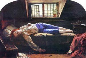 The Death of Chatterton by Henry Wallis, Tate version.