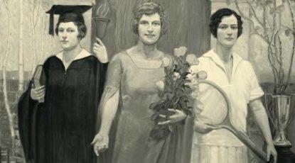 "Marian Van Tuyl, 1929, ""Feminine Ideal"""