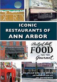 Iconic Restaurants of Ann Arbor, book cover