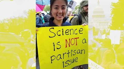 Why I marched for science