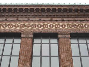 Kahn's Hatcher Graduate Library at U-M.