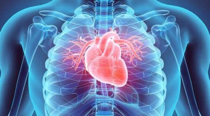 Stock illustration of beating heart