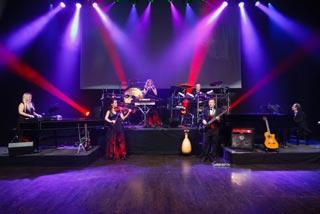 Mannheim Steamroller in concert.