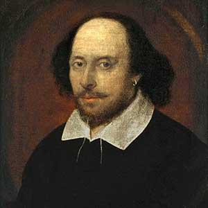 William Shakespeare (Courtesy Wikipedia).