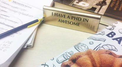 PhD in Awesome