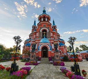 Russian Orthodox Church, Irkutsk.