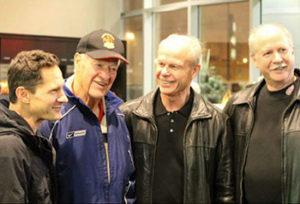 Murray, Gordie, Mark, and Marty Howe.
