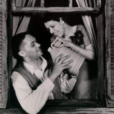 Todd Duncan (Porgy) and Anne Brown (Bess), 1935.