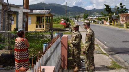 Anderson in Puerto Rico