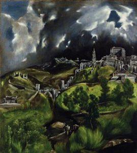"El Greco's ""View of Toledo."""