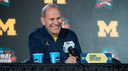 Head Basketball Coach John Beilein
