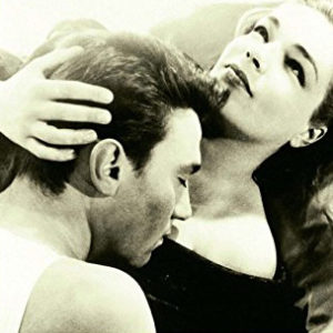 Laurence Harvey and Simone Signoret.
