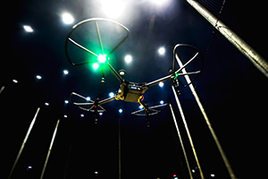 Debut M-Air night flight.