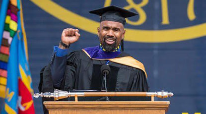 Charles Woodson, Commencement 2018