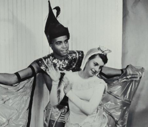 A young James Earl Jones performs at U-M.