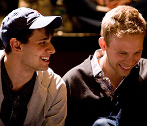 Songwriting team Benj Pasek and Jason Paul.