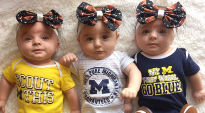 Triplets served at C.S. Mott Children's Hospital