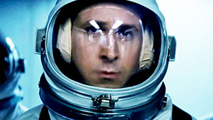 Ryan Gosling as Neil Armstrong. (Universal Pictures, 2018.)