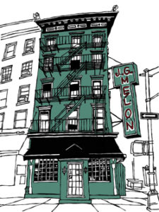 J.G. Melon (Manhattan, Upper East Side) by John Tebeau