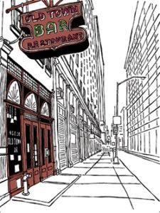 The Old Town Bar (Manhattan) by John Tebeau.