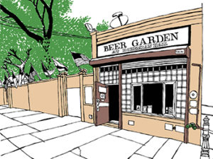 Bohemian Hall and Beer Garden (in Astoria, Queens) by John Tebeau