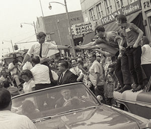 RFK in Detroit, May 15, 1968. (Image credit: Andrew Sacks.)