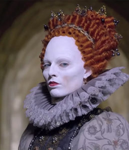 Margo Robbie as Elizabeth I (Focus Features, 2018)