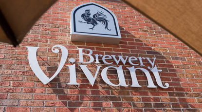 Bon Vivant brewery sign
