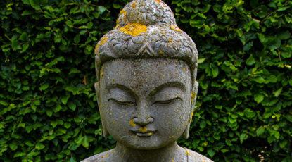 A Buddha Head, public domain image