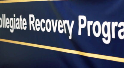 Collegiate Recovery Program banner