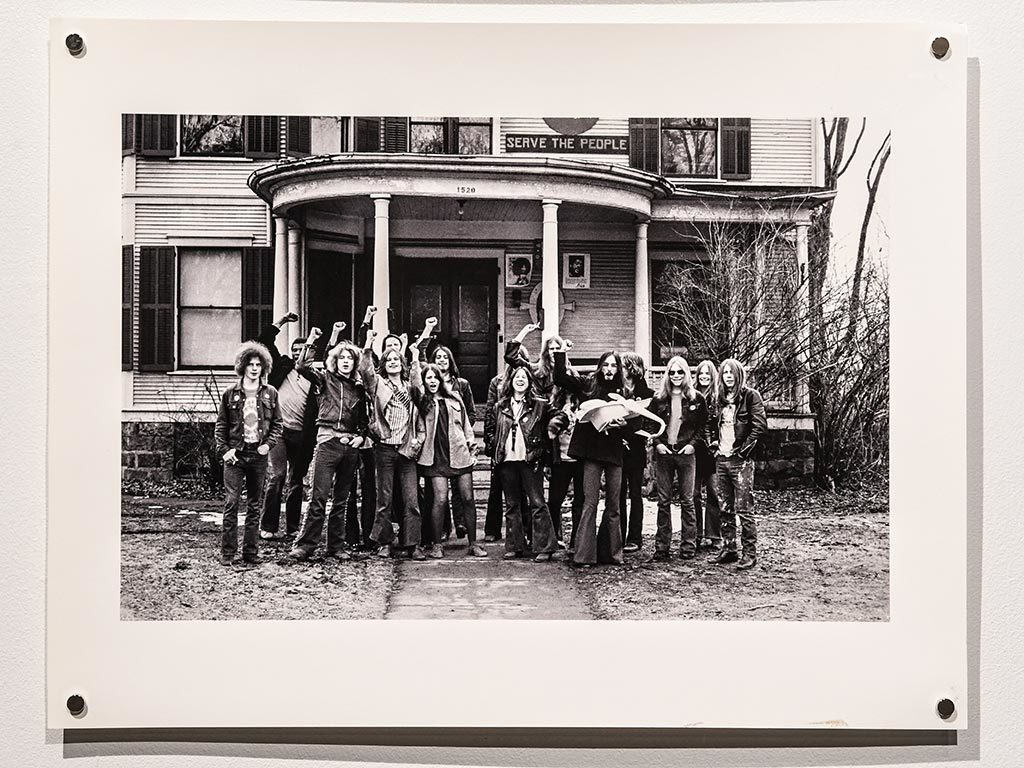 Leni Sinclair was born in Koenigsberg, East Prussia, and raised on a Collective Farm in the former East Germany. She escaped from there before the Berlin Wall was built, and emigrated to Detroit. In the early 1960s, she helped organize the Detroit Artists Workshop. Her photographs (shot between 1965-75) showcase concerts, artists workshops, and peaceful civil rights protests in Detroit.
