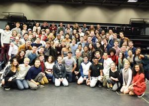 Talkback with musical theater students.