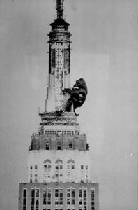 King Kong atop the Empire State Bldg.
