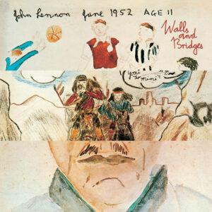 "John Lennon's solo album, ""Walls and Bridges."" (Apple Records, 1974.)"