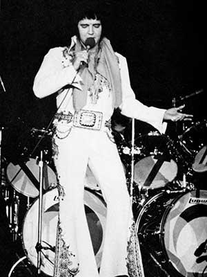 Elvis at Crisler, 1977