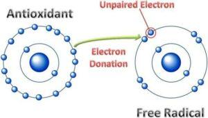 Electron donation
