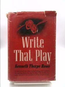 Write that Play book cover