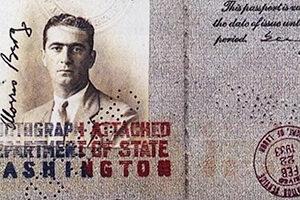 Berg's passport