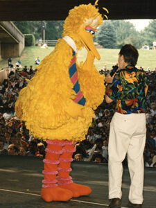 Big Bird and Bob McGrath