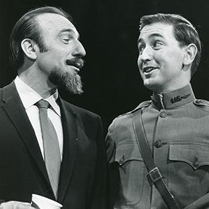 Mitch Miller and Bob McGrath