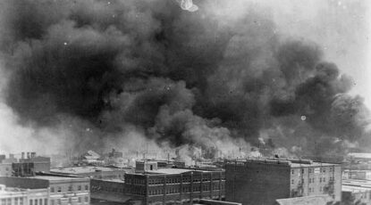 Burning of Greenwood neighborhood, Tulsa, Ok., 1921