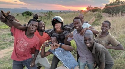 Levi Weintraub in Africa
