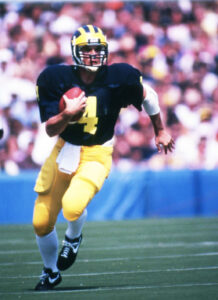 Jim Harbaugh in 1986