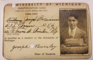 U-M ID card